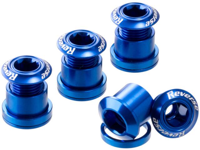Reverse Kettenblattschrauben dunkelblau